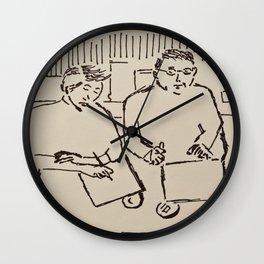 Café de Flore Wall Clock