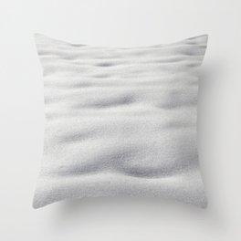 Texture #9 Snow Throw Pillow