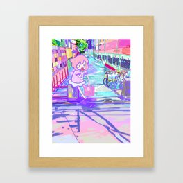 Tokyo Summer Framed Art Print