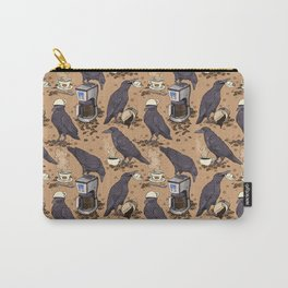 Corvids & Coffee Carry-All Pouch