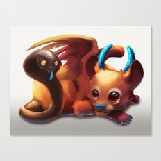 Baby Chimera Canvas Print
