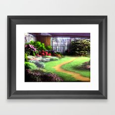 Landscape Heaven Framed Art Print