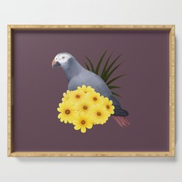 Timneh African Grey Serving Tray