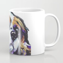 Blenheim Cavalier King Charles Spaniel Dog Portrait Pop Art painting by Lea Coffee Mug