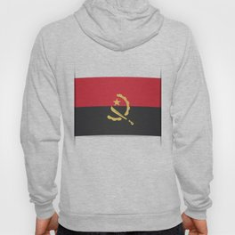 Flag of Angola, officially the Republic of Angola. Hoody