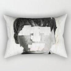 Faceless | number 02 Rectangular Pillow