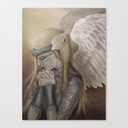 I'm Done Listening to Dead Men. Canvas Print