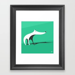 greendog Framed Art Print
