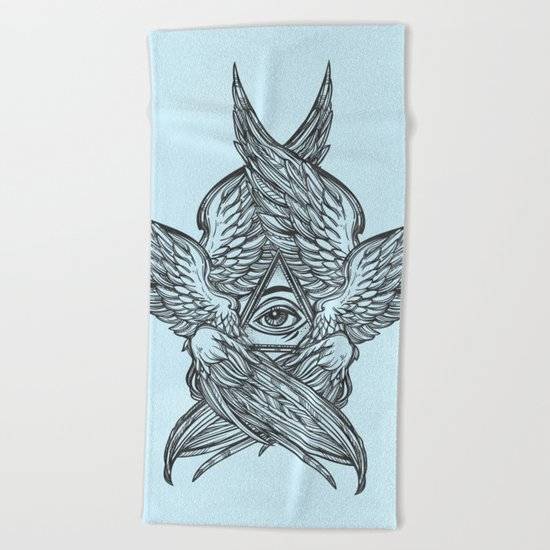 Ascend Beach Towel