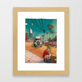 Californium | Truck Framed Art Print
