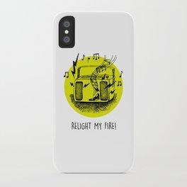 Noisy Radio iPhone Case