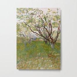 The Flowering Orchard Metal Print