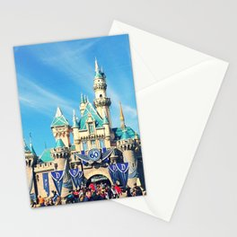 Sleeping Beauty Castle 60th Anniversary Stationery Cards