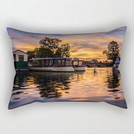 Dawn on the Avon Rectangular Pillow