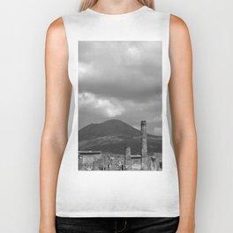 Mount Vesuvius Volcano Overlooking Pompeii Biker Tank