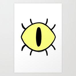 Bill Eye Art Print
