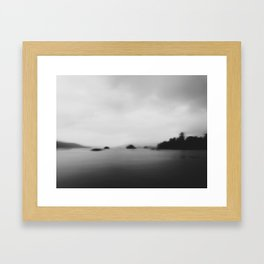 sfumato Framed Art Print