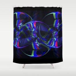 The Light Painter 19 Shower Curtain