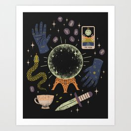 I See Your Future Art Print