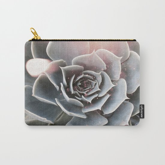 Shiny Succulent Carry-All Pouch