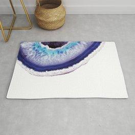 Violet Agate Art 2 Rug