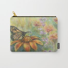 Butterfly Landing by Marianne Fadden Carry-All Pouch
