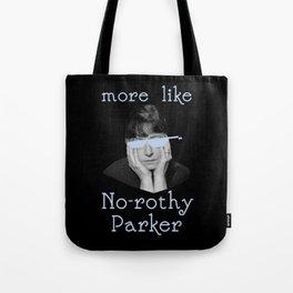 Dorothy Parker is Over It Tote Bag