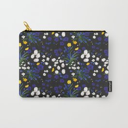 Flowery night  Carry-All Pouch