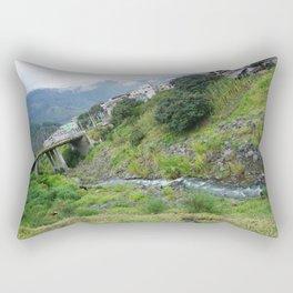 Another View of Banos Rectangular Pillow
