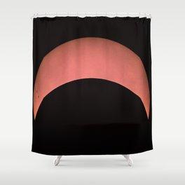Partial Solar Eclipse Shower Curtain