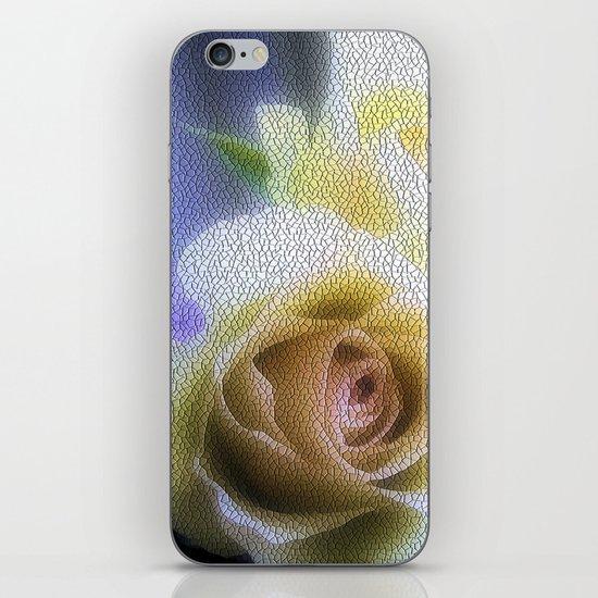 Old Love Gentle Rose - Pastel Vintage Mosiac iPhone & iPod Skin