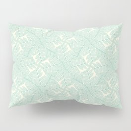 Pinnated Compound Leaflets Pattern Pillow Sham