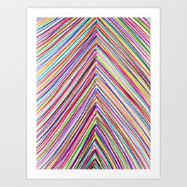 Marker Up (Kid Art) Art Print