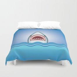 Cartoon Shark Duvet Cover