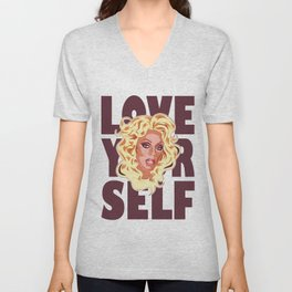 Love Yourself Unisex V-Neck