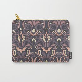 smoke damask Carry-All Pouch