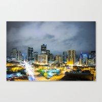 denver Canvas Prints featuring Denver by Kodablck