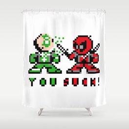 dead green Shower Curtain