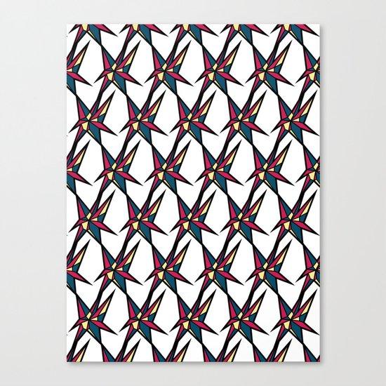 Crystallis [WHITE] Canvas Print