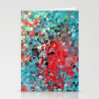 splatter Stationery Cards featuring Splatter by Steven Rogers