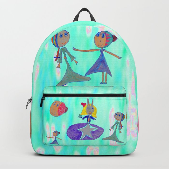 Alice   Up to the light sky Backpack