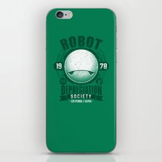Robot Depreciation Society iPhone & iPod Skin