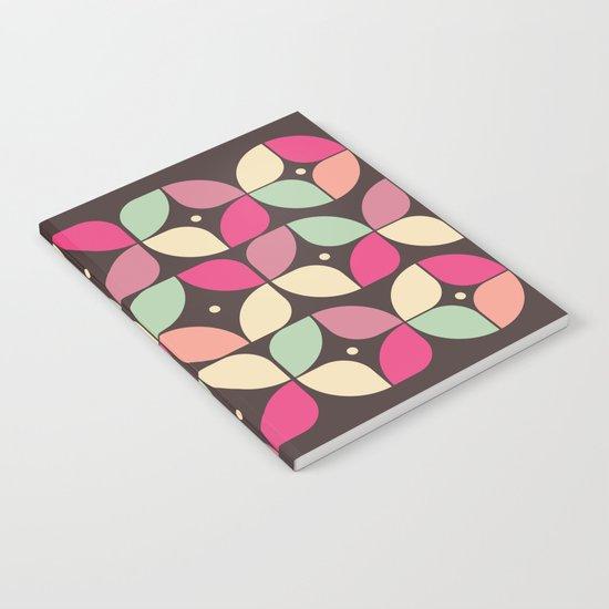 Funky Flower Garden Pattern Notebook