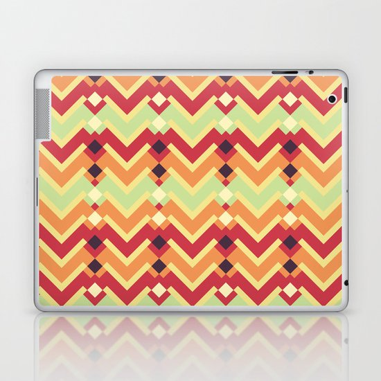 Fractal mountains - salad Laptop & iPad Skin