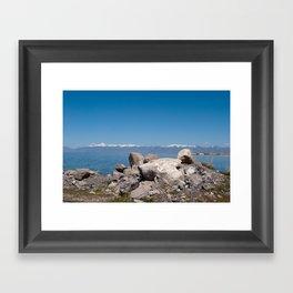 Salt Lake Scenery II Framed Art Print