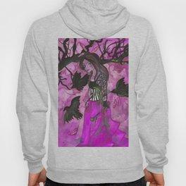 Raven Witch - Bright Purple Hoody