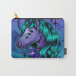 Crystal Unicorn Carry-All Pouch