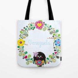 Flower Garland Corona Florida Tote Bag