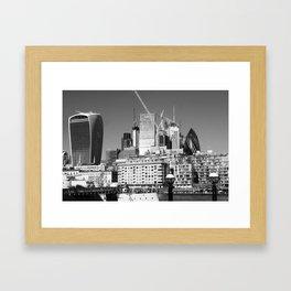 City Of London Skyline Framed Art Print