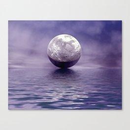 Under A FullMoon  Canvas Print